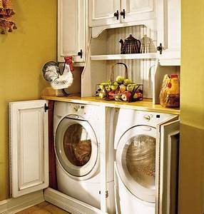 best 25 hidden laundry rooms ideas on pinterest laundry With secrets for functional and attractive laundry room cabinets