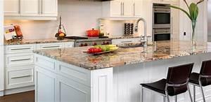 plan de travail en granit cuisine sur mesures With cuisine avec plan de travail en granit