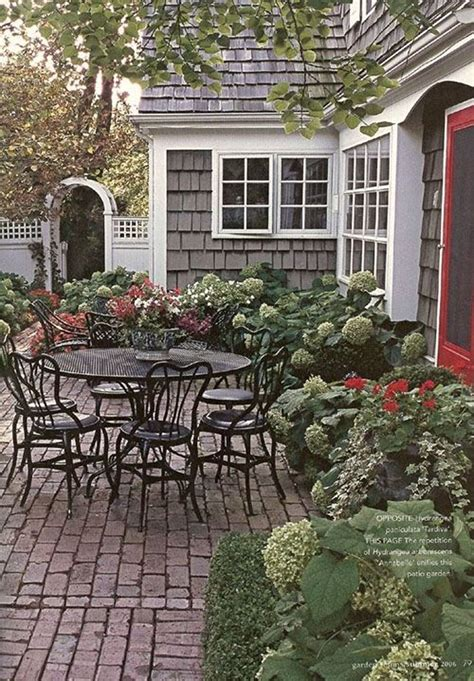 New Patio by Lowe S Patio Inspiration Outdoors Spaces Patio Brick
