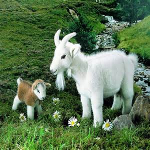 Realistic Stuffed Animals Goat