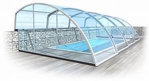 Zastřešení bazénů bez kolejnic