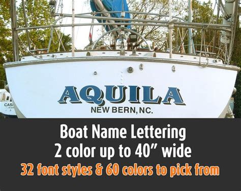 vinyl lettering for boats 17 best images about yacht rockers on