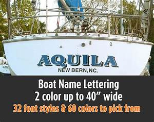 17 best images about yacht rockers on pinterest head With best boat lettering