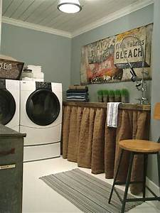 Rustic chic laundry room decor rustic crafts chic decor for Decorating a laundry room ideas