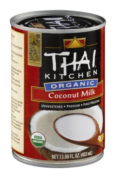 Thai Kitchen Organic Coconut Milk  Hyvee Aisles Online