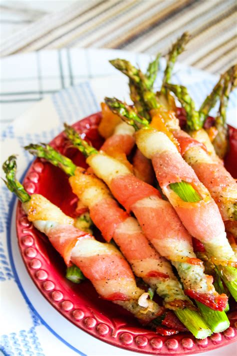 bacon asparagus wrapped air fryer crispy recipe fried ingredient