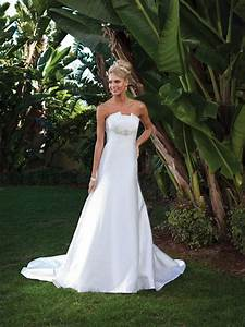 simple wedding dress to show off yourself ipunya With simple white wedding dress