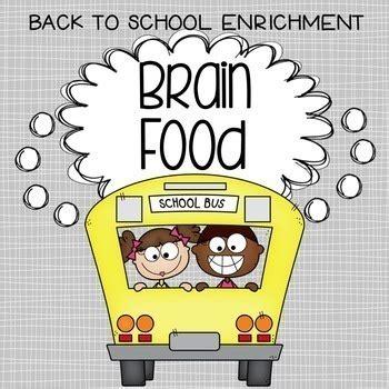brain food   school enrichment activities