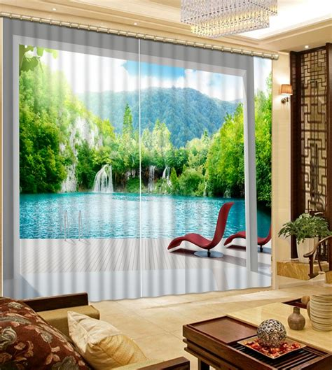 aliexpress buy customized 3d curtain for the
