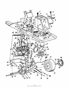 Mtd 13ab560b722  1997  Parts Diagram For Drive Pedal