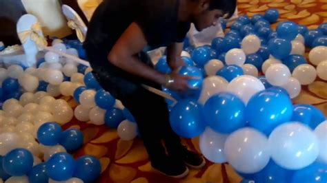how to make a balloon how to make balloon arch or balloon decoration for party youtube
