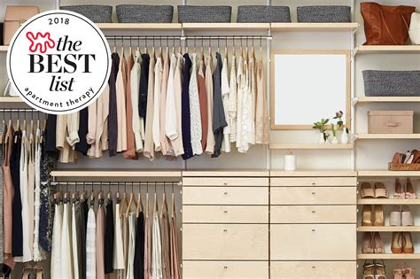 Best Closet Storage Systems by The Best Closet Systems To Organize Your Wardrobe