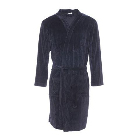 robe de chambre hommes robe de chambre eminence en velours noir rue des hommes