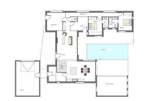 free enchanteur plan maison moderne construire sa maison moderne plan maison moderne d plan