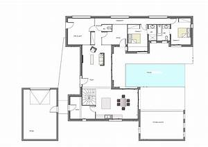 simple enchanteur plan maison moderne construire sa maison With wonderful toit de maison dessin 11 plan moderne avec garage