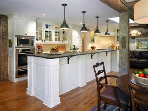large square kitchen island post and beam construction kitchen farmhouse with large