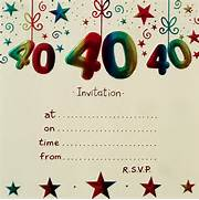 40th Birthday Party Invitations With Envelopes X10 Birthday Party 40th Birthday Invitations Teal And Fabulous 40th Birthday Invitation 40th SURPRISE Birthday Party Invitation Template Zazzle Free 40th Birthday Invitation Templates
