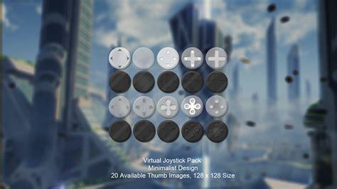 Virtual Joystick Minimalist Pack By Tzenkugames In D