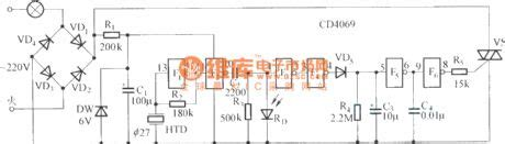 Sound Control Delay Energy Saving Switch Circuit Diagram