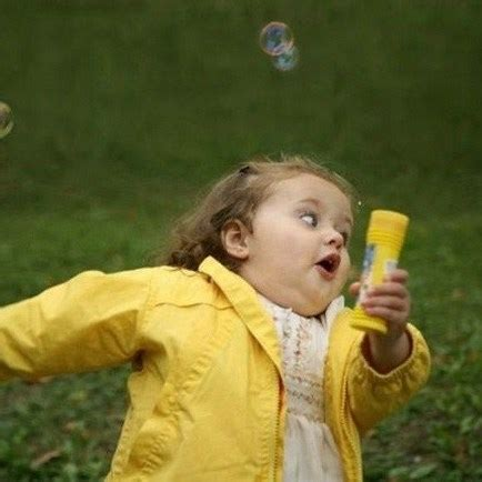 Yellow Raincoat Girl Meme - little girl running away meme generator