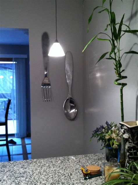 giant fork  spoon  kitchen target   love