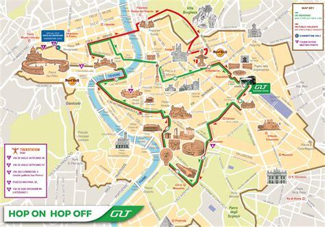 rome routes maps extrapolitan hop  hop