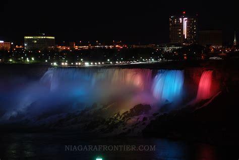 niagara falls the illumination lights