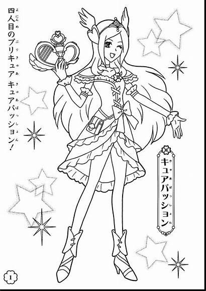 Pretty Cure Fresh Coloring Dibujos Colorear Precure