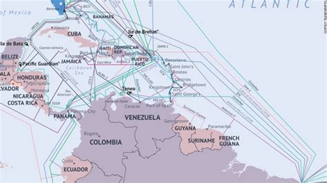 What The Internet Looks Like Undersea Cables Wiring Ends
