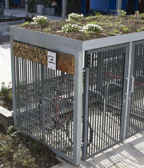 a bike shed should a green roof small scale green