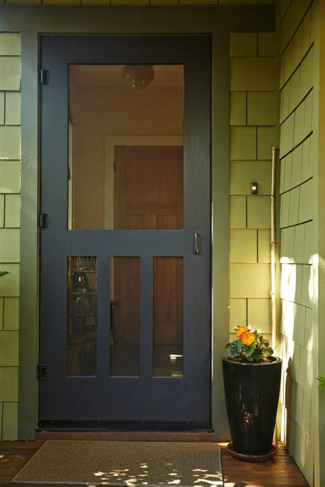 Screen Door by Craftsman Style Screen Door Woodworking Projects Plans