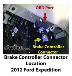 installing brake controller   ford expedition