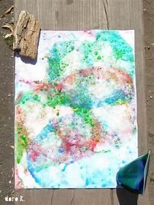 Malen Mit Kindern : malen mit kindern seifenblasen auf papier kreativ mit kids pinterest kindergarten ~ Orissabook.com Haus und Dekorationen