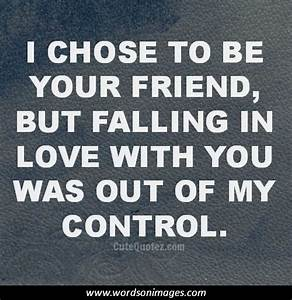 quotes about falling in love with a friend
