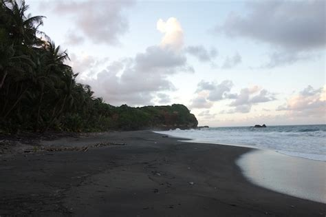 dominica tops list  caribbean black sand beaches
