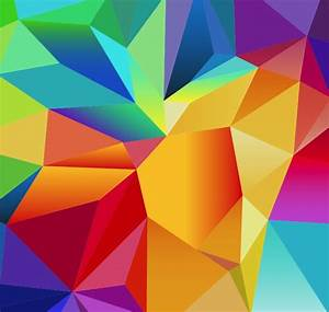 Abstract Geometric Polygonal Vector Background | Free ...