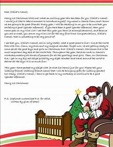 first christmas letter from santa template search With baby letter from santa