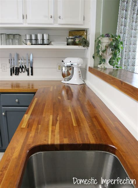 butcher block kitchen countertops pros and cons my butcher block countertops two years later domestic
