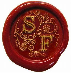 146 best wax seals images on pinterest bridal for Letter seal stamp