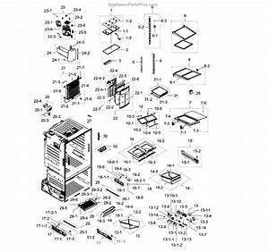 Parts For Samsung Rf28hdedbsr  Aa    0007  Frdige Parts