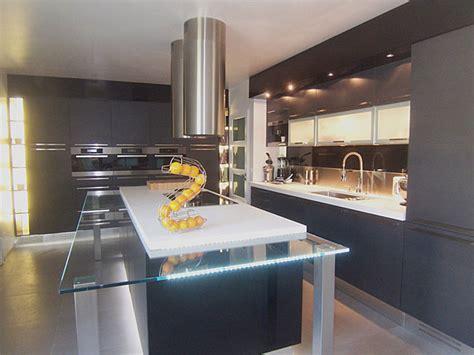 cuisine design avec ilot central ilot central design cuisine en image