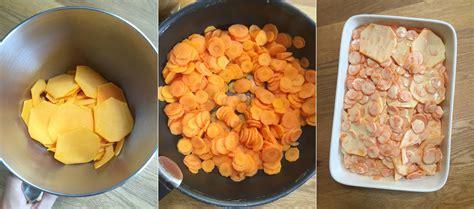mes brouillons de cuisine gratin d automne carottes et courge butternut mes