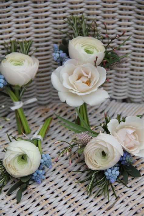 ranunculus buttonholes  corsages kitchen ideas
