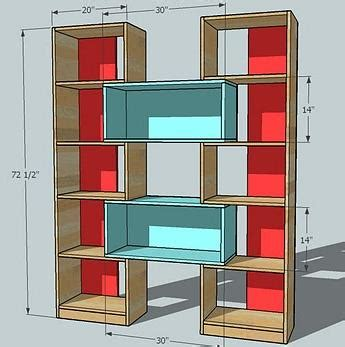 Bookcase Plans Free Simple » Woodworktips
