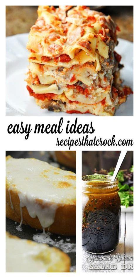 easy crock pot dinner recipes easy crock pot meal ideas