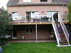 Terrasse Metallique Suspendue : terrasse suspendue beton photo ~ Dallasstarsshop.com Idées de Décoration