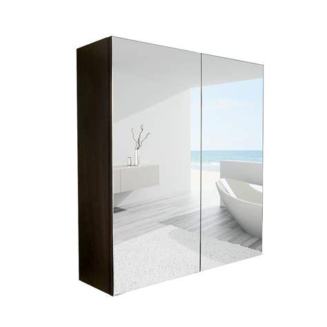 elecwish  wide wall mount mirrored bathroom medicine
