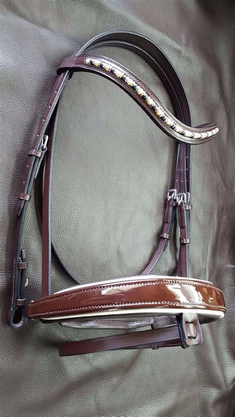 dressage bridle patent limited edition leather