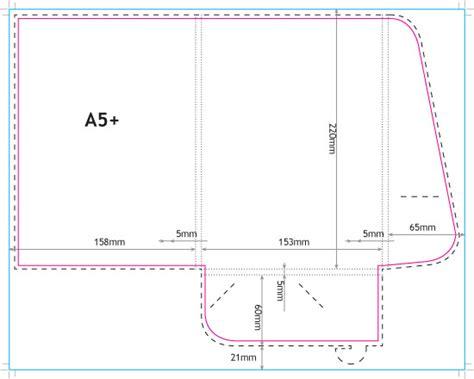 a5 interlocking folder template presentation folders a5 350gsm silk online printing