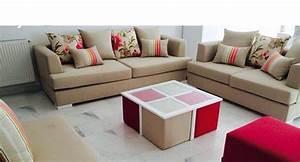 Pouf Pour Salon : stunning pouf marocain moderne pictures amazing house ~ Premium-room.com Idées de Décoration